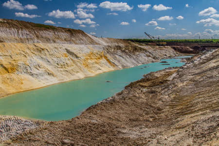Clay quarry near the city of Pology in the Zaporizhzhya region. Ukraine. May 2017