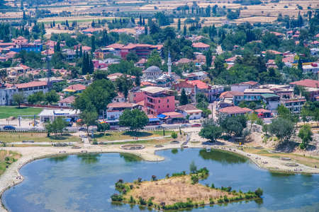 The city of Pamukkale in the province of Denizli in the south-west of Turkey. Turkey. July 2009 Editorial