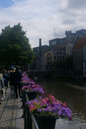 Promenade Gent Banque d'images - 17432485