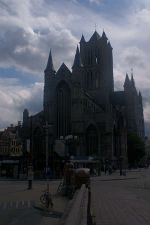 Cathedral in Gent