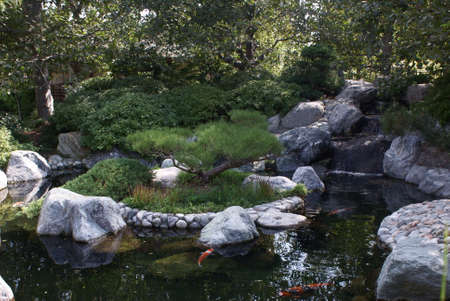 balboa: Japanese Garden in Balboa Prak, San Diego