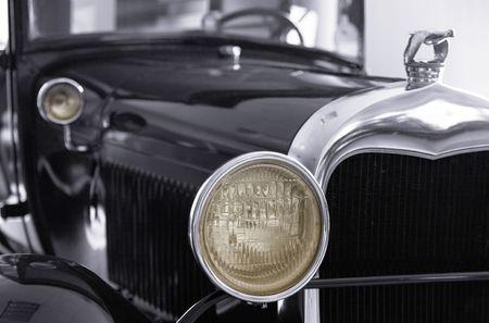 Russian retro car