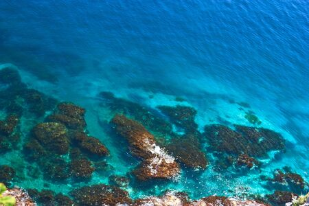 expanse: limitless expanse of blue sea