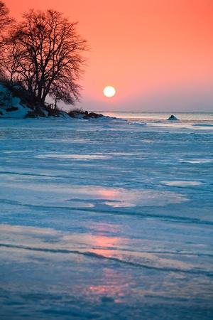 beautiful winter nature of the Primorsky Territory, Vladivostok, Russia Stock Photo - 8845101
