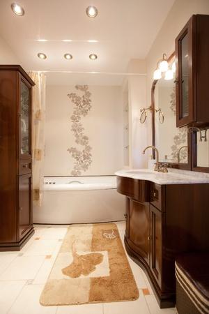 Interior moderno apartamento Foto de archivo - 9293542