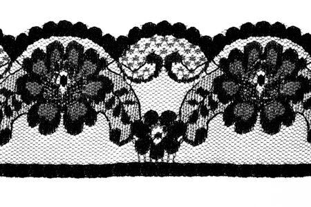 Hermosa encajes en estilo floral Foto de archivo - 9403214