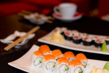 Sushi Japanese Restaurant Stock Photo - 9482677
