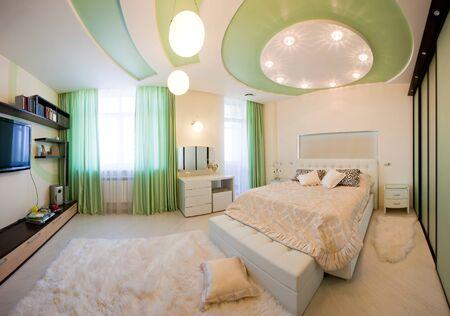 Interior moderno apartamento Foto de archivo - 9687734