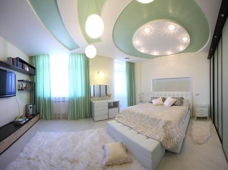 Interior hermoso apartamento moderno Foto de archivo - 9794492