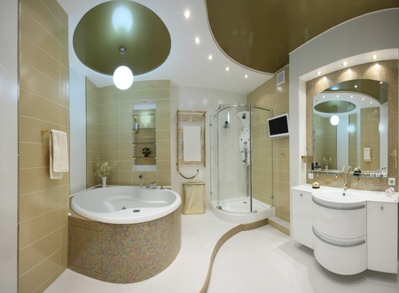 beautiful modern apartment interior Stock Photo - 9794570