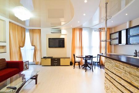 Modern simple flat