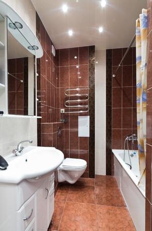 Modern simple bathroom Stock Photo - 9794458
