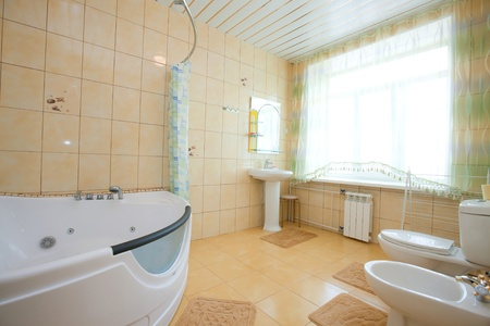 Simple bathroom Stock Photo - 9796114