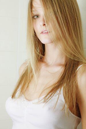 portrait of a beautiful sexy blonde Stock Photo - 10001757