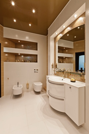 Interior moderno apartamento Foto de archivo - 10267875