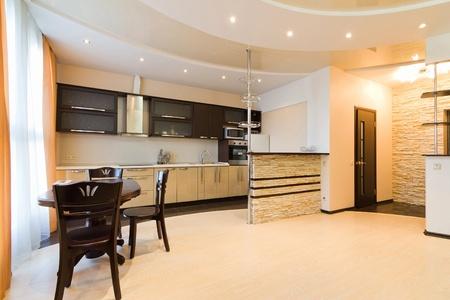 Modern simple kitchen Stock Photo - 12047727