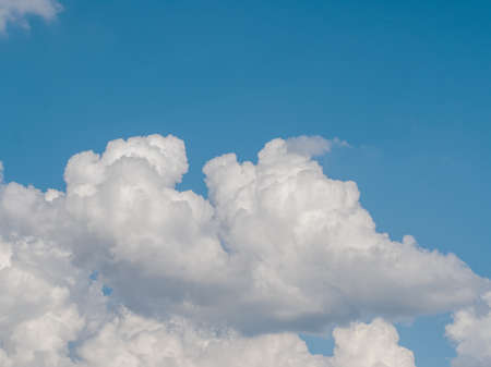 Beautiful white clouds in the blue sky Stok Fotoğraf