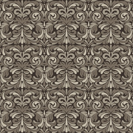 patina: Patina antique baroque vintage seamless pattern or background