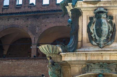 bologna: bologna fountain of neptune