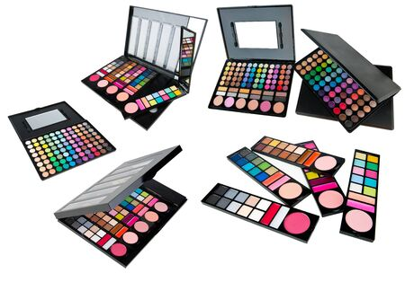 collection of professional make up sets photo