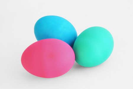 Colored Easter Eggs 版權商用圖片