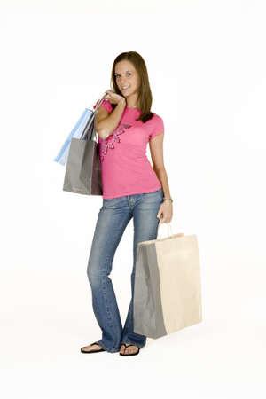 Model Release 315 Woman shopping