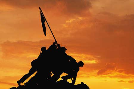 Iwo Jima Memorial Washington D C USA Stock Photo - 652178