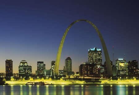 St. Louis Skyline, Missouri Stock fotó - 651920