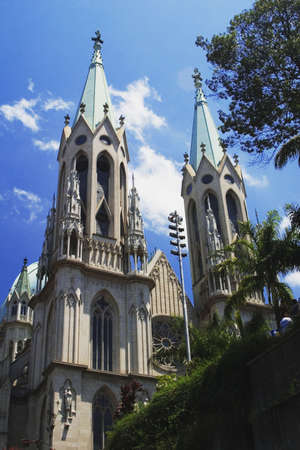 se: Cathedral of Se of Sao Paulo, Sao Paulo, Brazil