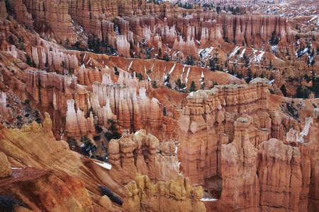 hoodoos: Hoodoos in Bryce Canyon National Park,  Utah,  United States
