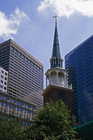 massachussets: Old South Meeting House in Boston, Massachussets, United States
