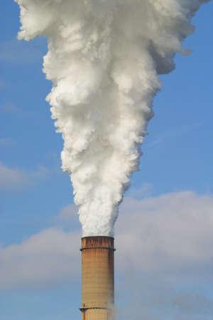 central el�ctrica: Emisiones de las centrales el�ctricas