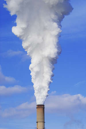smokestacks: Power plant emissions