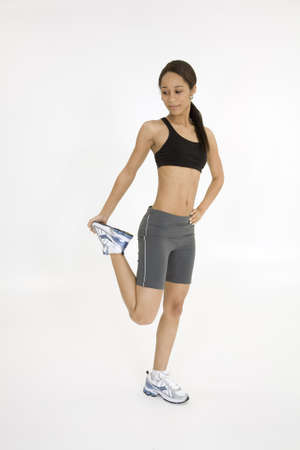 Model Release 379  Young African American woman working out Stock Photo - 780652