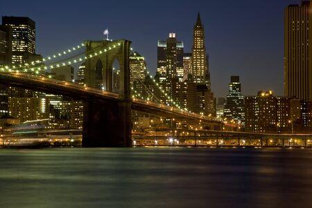 Brooklyn Bridge New York New York Verenigde Staten