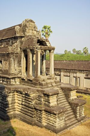 The ancient ruins of Angkor Wat in Cambodia