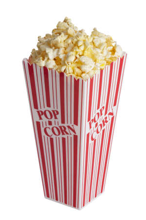 junk: Box of popcorn