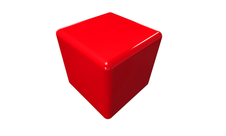 red cube: