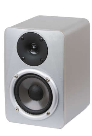 Picture of professional studio monitor speaker on white background. Stock Photo - 5137125