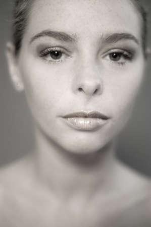 a model portrait in the studio Stock Photo - 988970