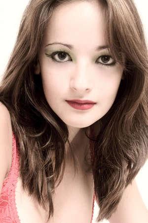a portrait of a beauty model taken in the studio Stock Photo - 997147