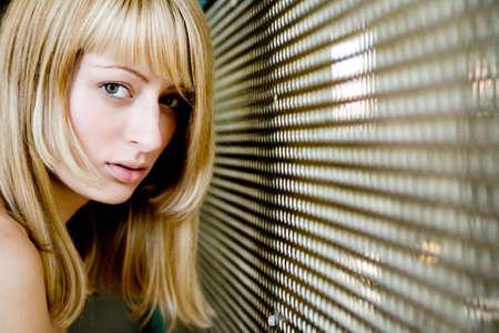 lookalike: Sensual portrait of a Paris Hilton look-a-like
