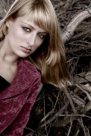 lookalike: Fashion shoot of Paris Hilton look-a-like
