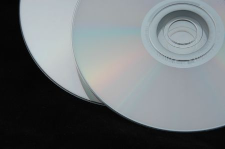 cds: Isolated image of two CDs