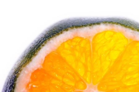 A photo of a Bodrum Mandalina, or green orange