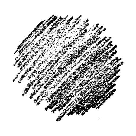 Sketch Scribble Smear. Hand drawn Pencil Scribble Stain. Vector illustration