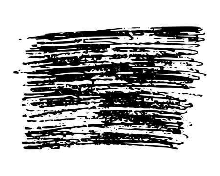 Sketch Scribble Smear Rectangle. Hand drawn Pencil Scribble. Vector illustration.