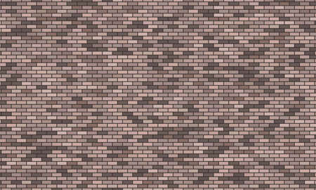 Grey brick wall background. Vector illustration