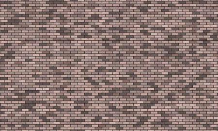 Grey brick wall background. Vector illustration