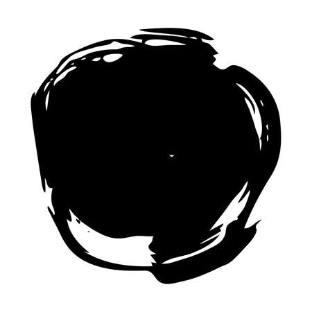 Sketch Scribble Smear. Hand drawn Paint Scribble Stains. Vector illustration.